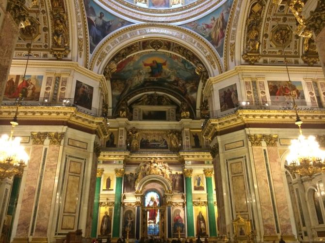 Inside St. Isaac's