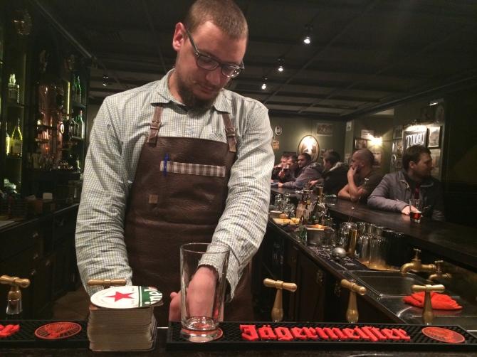 An Irish bar