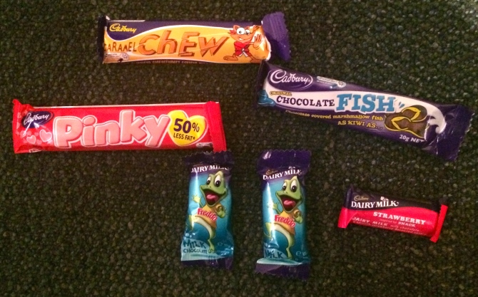 New Zealand confectionary