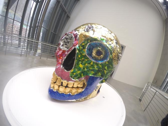 The friendliest skull I've ever seen