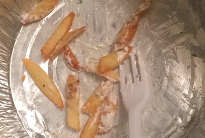 Demolishing junk food afterwards is always the best part