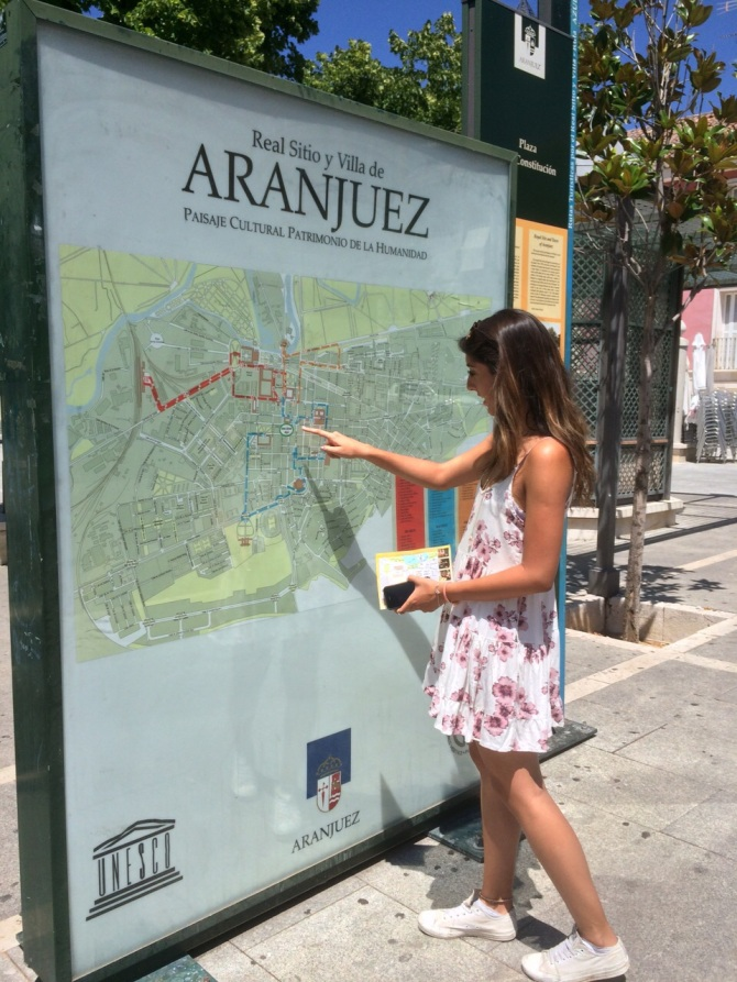Navigating the streets - my inner tour guide was loving life