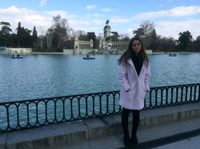 My very first day in Madrid!