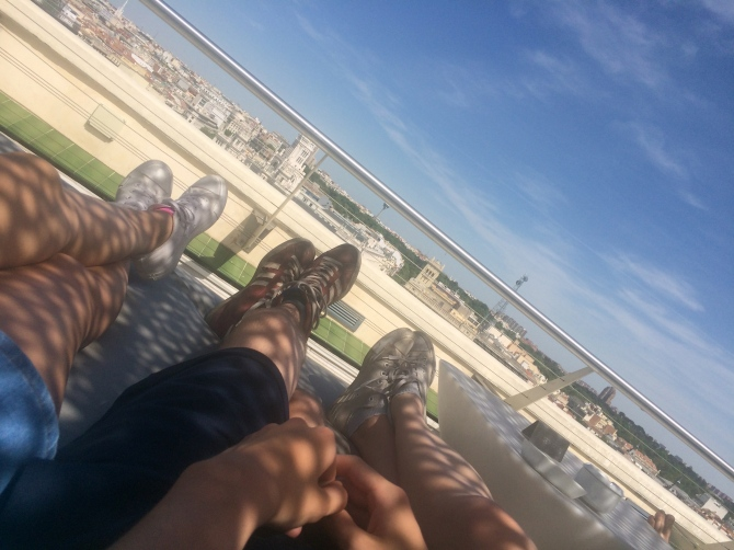 Rooftop chillout