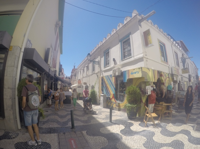 Quirky streets, shops and cafés