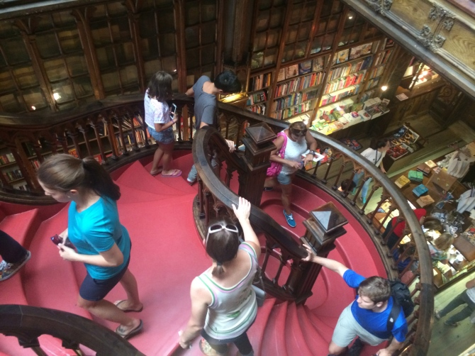 In my element in the world's oldest bookstore