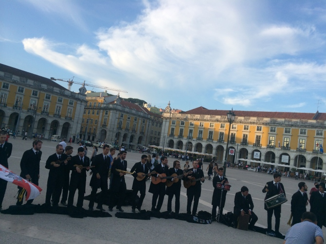 Music in the main square