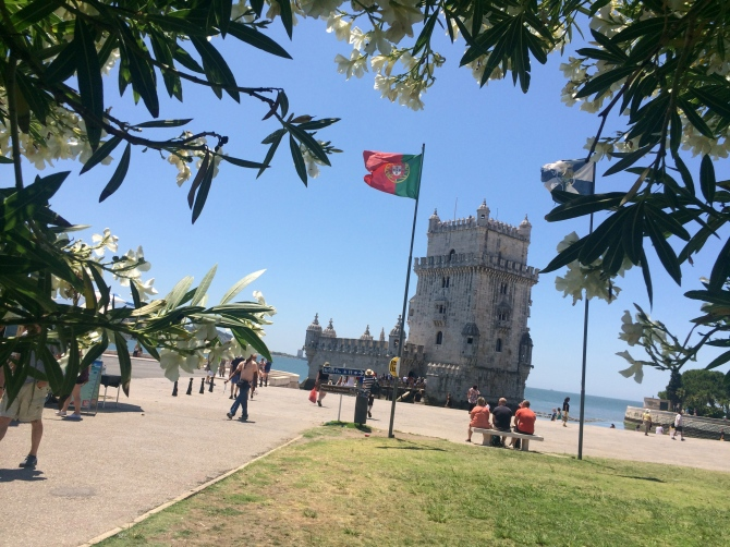 Belem castle - 'No, Danny we aren't going in this one'