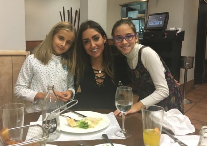 Love my lil niñas!