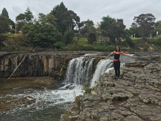 First stop, Haruru Falls