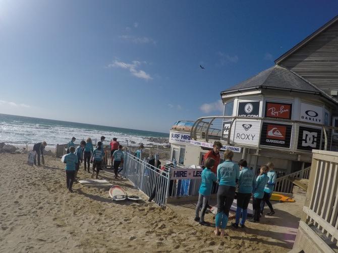Surf schools galore