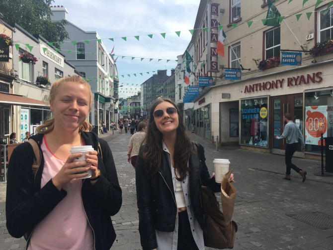Much needed caffeine-boost in Galway